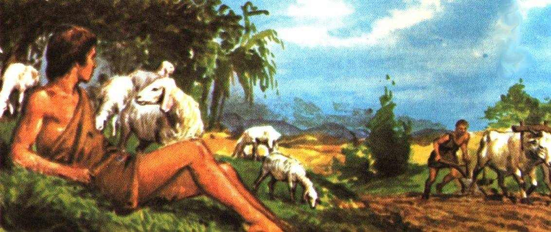 an analysis of the christian myth of cain and abel Cain and his offering bruce k waltke introduction  this myth indicates that god loves the shepherd and the  failure to offer blood in fact, however, in the cain and abel story, a part of the books of moses, neither sin offering nor guilt offering is used.